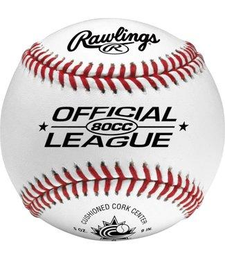 RAWLINGS Balles de Baseball 80CC (UN)