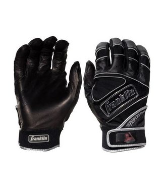 FRANKLIN The PowerStrap Chrome Adult Batting Gloves