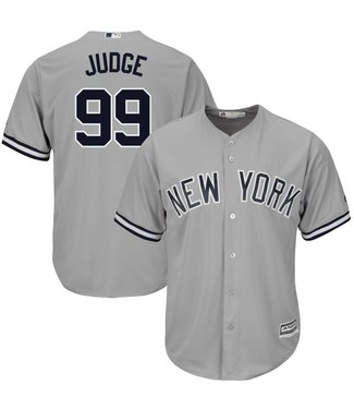 MAJESTIC Aaron Judge New York Yankees Youth Replica Road Jersey