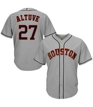 MAJESTIC Jose Altuve Houston Astros Youth Replica Road Jersey