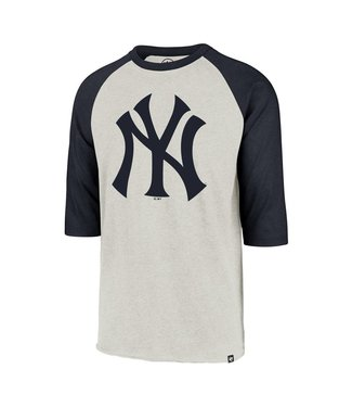 47BRAND Chandail à Manches Raglan Imprint Club des Yankees de New York