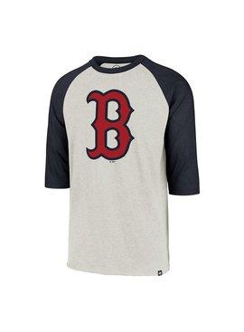 47BRAND Chandail à Manches Raglan Imprint Club des Red Sox de Boston