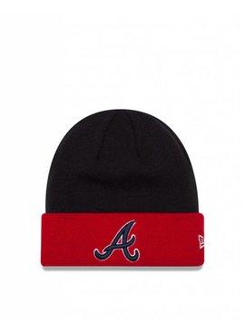 NEW ERA MLB Basic Cuff Knit Atlanta Braves OTC