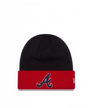 NEW ERA Tuque MLB Basic Cuff des Braves d'Atlanta