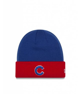 NEW ERA Tuque MLB Basic Cuff Knit des Cubs de Chicago