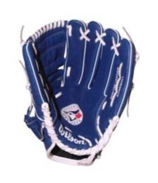 "WILSON Gant de Baseball A450 Blue Jays 11.5"""