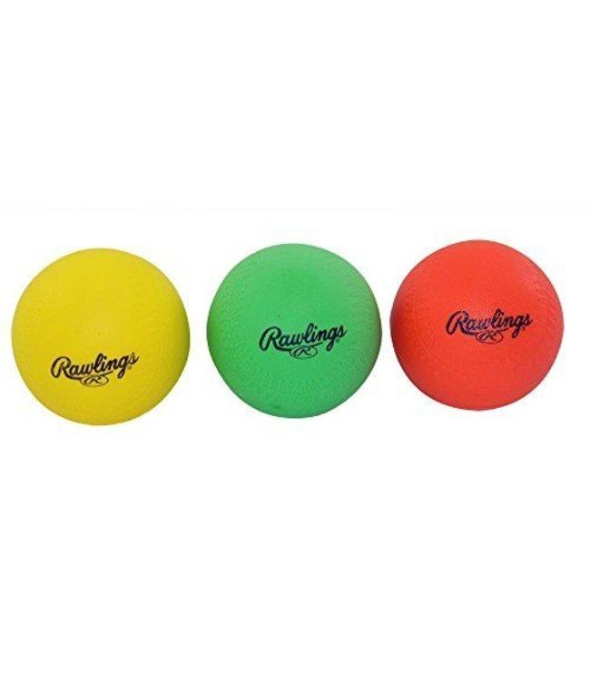 RAWLINGS Hit Trainer Balls (3 pk)