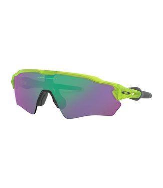 OAKLEY Radar EV XS Path Matte Uranium W/ Jade Iridium (Youth Fit)