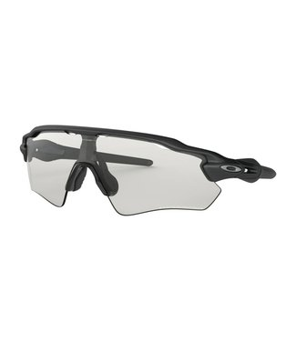 OAKLEY Radar EV Path Steel W/ Clear Black Iridium Photochromic Activated