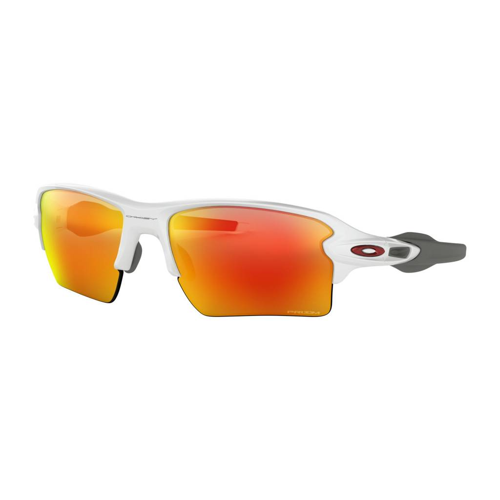 OAKLEY Flak 2.0 XL Polished White W/ Prizm Ruby
