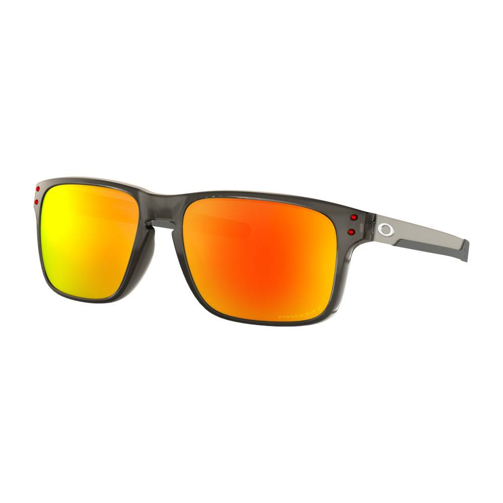OAKLEY Holbrook Mix Gray Smoke W/ Prizm Ruby Polarized