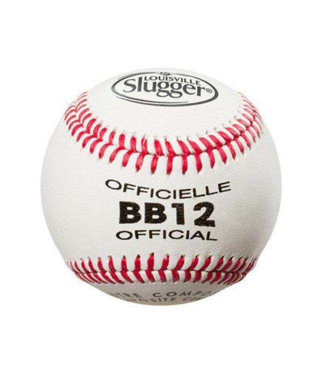 LOUISVILLE SLUGGER Balle de Baseball BB12 (UN)