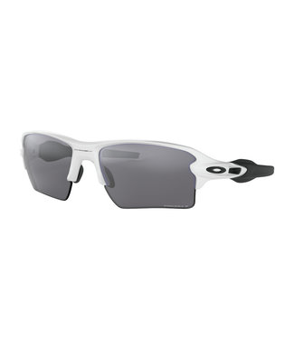 OAKLEY Flak 2.0 XL Polished White W/ Prizm Black Polarized