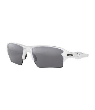 OAKLEY Flak 2.0 XL All Polished White W/ Prizm Black Polarized