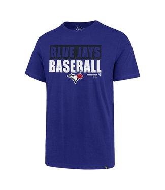 47BRAND Toronto Blue Jays Super Rival Tee