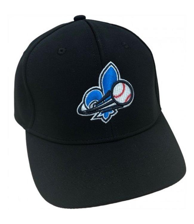 BASEBALL QUEBEC Baseball Quebec Umpire Cap Black