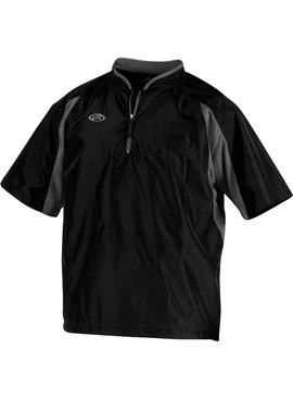 RAWLINGS TOCCJ Men's Short Sleeve Cage Jacket