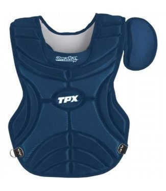 LOUISVILLE SLUGGER CHEST PROTECTOR NAVY YOUTH