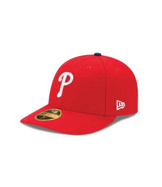 NEW ERA Casquette Authentique Game à Profil Bas des Phillies de Philadelphie