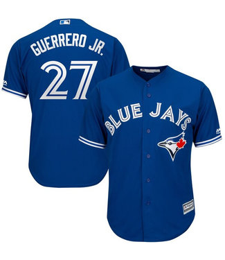 MAJESTIC Vladimir Guerrero Jr. Toronto Blue Jays Youth Replica Alternate Jersey