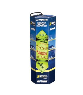 WORTH Softball Throwing Training Kit