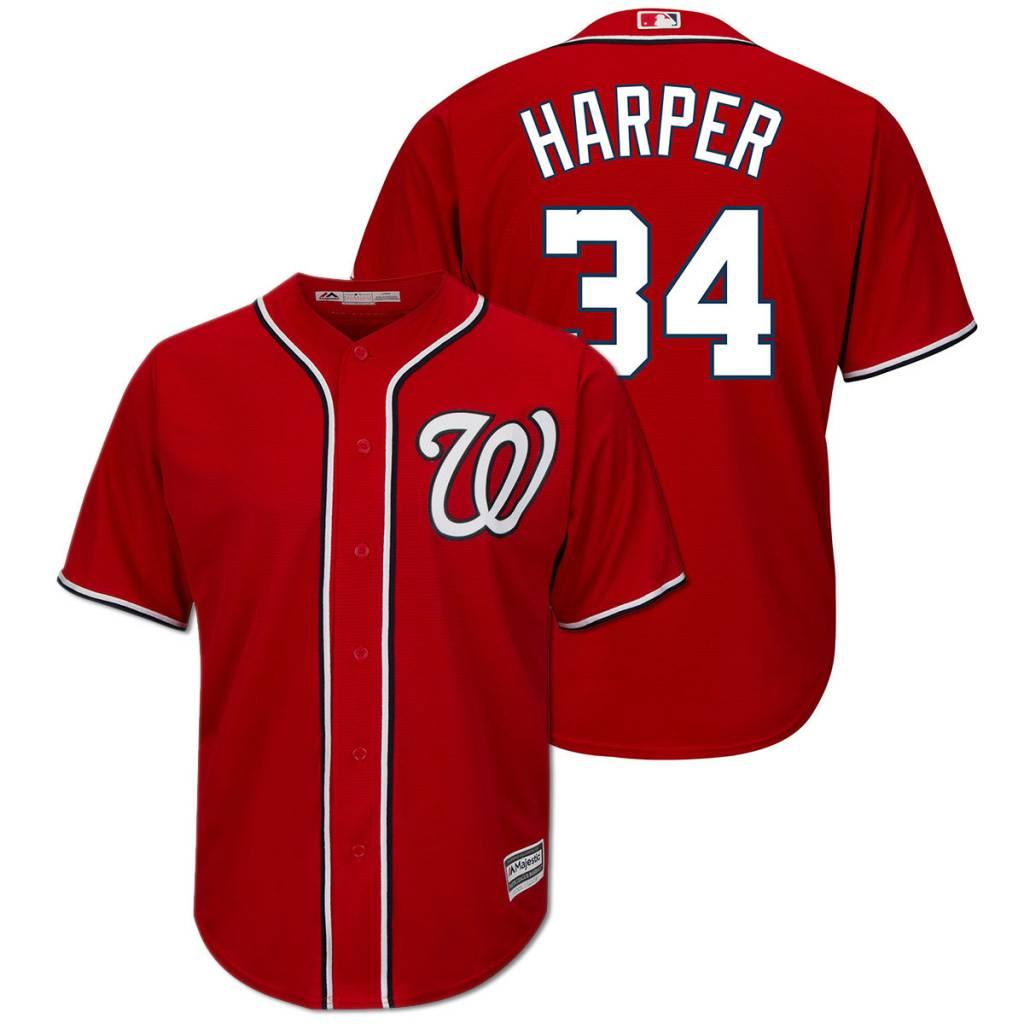 af91a31cd62 WASHINGTON NATIONAL JERSEY BRYCE HARPER - Baseball Town