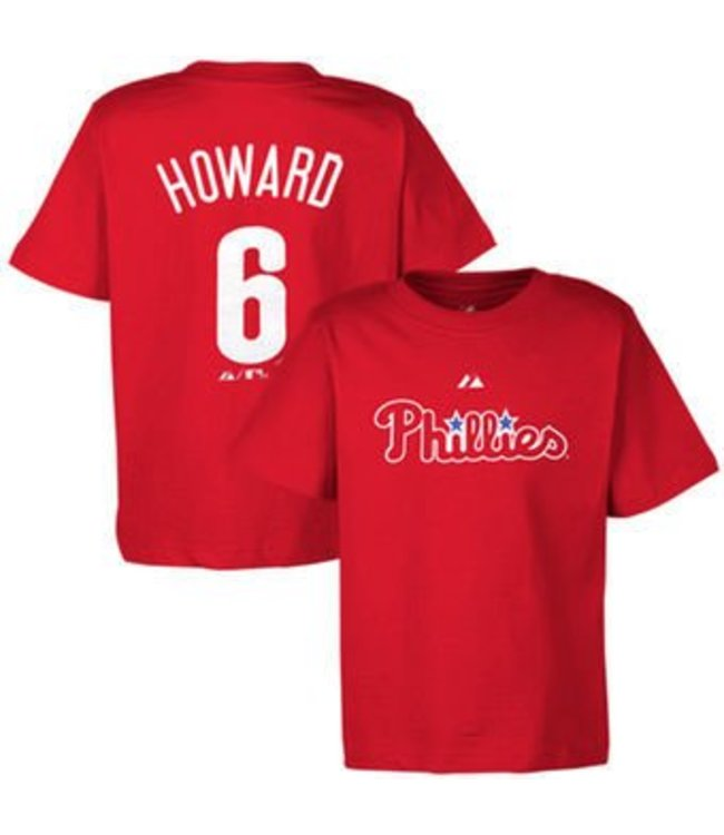 first rate 09983 191a6 MAJESTIC T-SHIRT HOWARD PHILADELPHIA PHILLIES