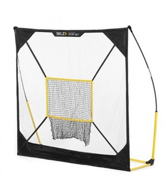 SKLZ Quickster - 7'x7' Net with Baseball Target (B)