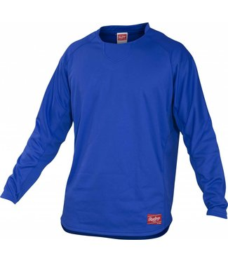 RAWLINGS Rawlings YUDFP3 Youth Long Sleeve Pullover