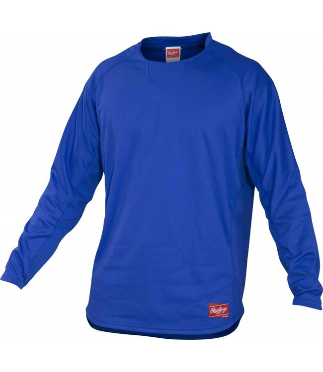 RAWLINGS Rawlings YUDFP3 Youth Long Sleeve Pullover