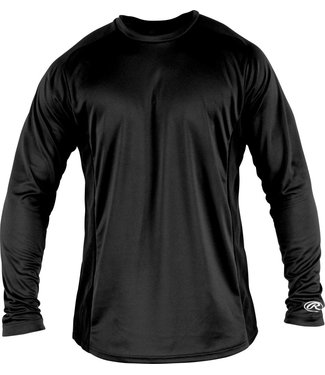 RAWLINGS YLSBASE Youth Long Sleeve Shirt