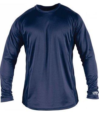 RAWLINGS YLSBASE Youth Long Sleeve Shirt