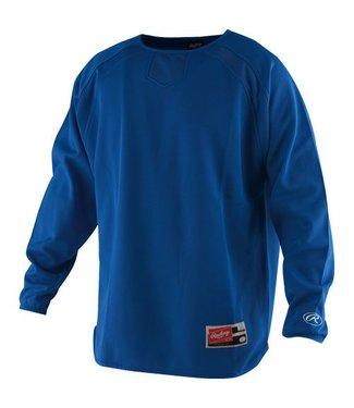 RAWLINGS Long Sleeve Fleece Pullover