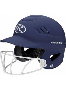 RAWLINGS RCFHLFG Highlighter Batting Helmet With Faceguard