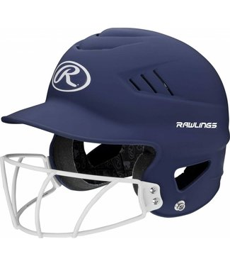 RAWLINGS RCFHLFG Highlighter Batting Helmet With Faceguard