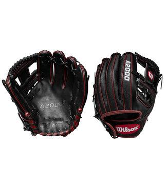"WILSON A2000 DP15 11.5"" Pedroia Fit Superskin Baseball Glove"