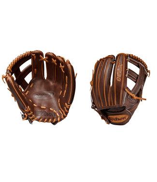 "WILSON A2000 DP15 Dustin Pedroia Game Model 11.75"" Baseball Glove"