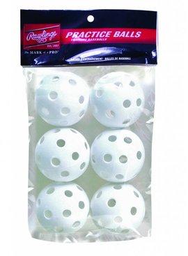 """RAWLINGS Plastic Baseball 9"""" (6 pk)"""
