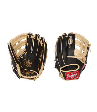 "RAWLINGS PROR207-6BC Heart of the Hide R2G Narrow Fit 12 1/4"" Baseball Glove"