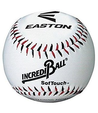 "EASTON 9"" Softtouch White Training Ball"