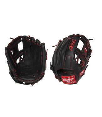 "RAWLINGS R9YPT2-2B R9 Pro Taper 11 1/4"" Youth Baseball Glove"