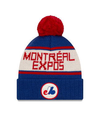 NEW ERA Tuque Adulte Knithsmarker A3 des Expos de Montreal