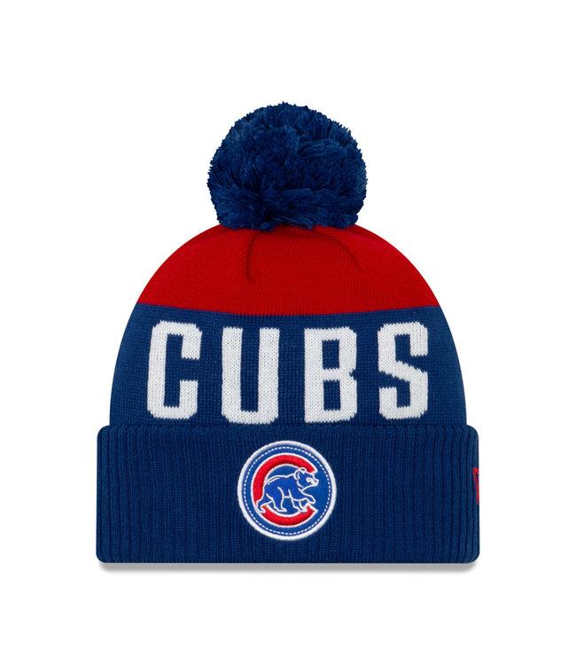 NEW ERA Tuque Adulte Knitpatch A3 des Cubs de Chicago