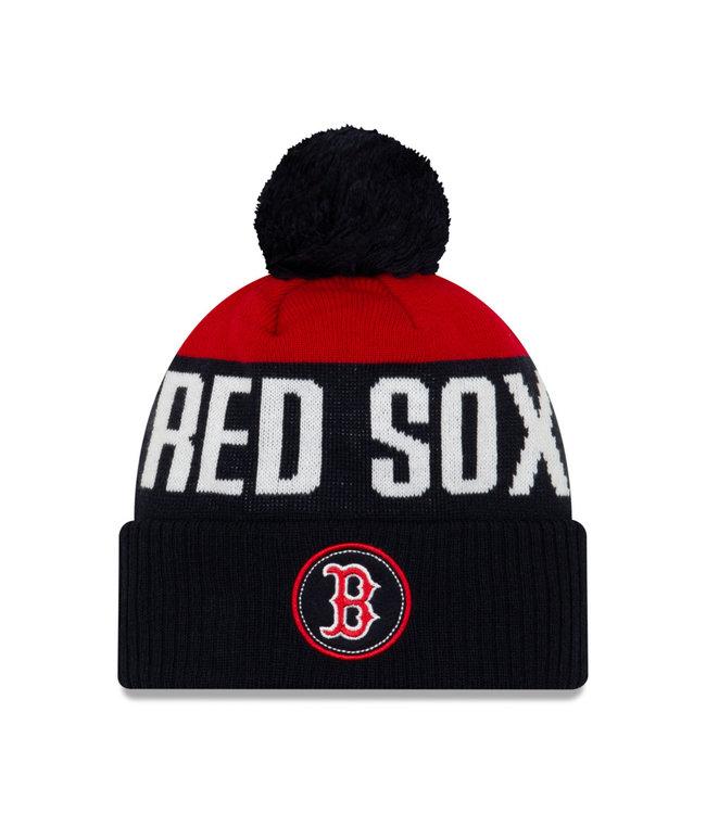 NEW ERA Tuque Adulte Knitpatch A3 des Red Sox de Boston