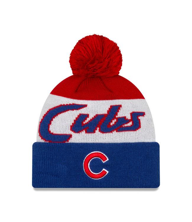 NEW ERA Men's Knit Script A3 Chicago Cubs