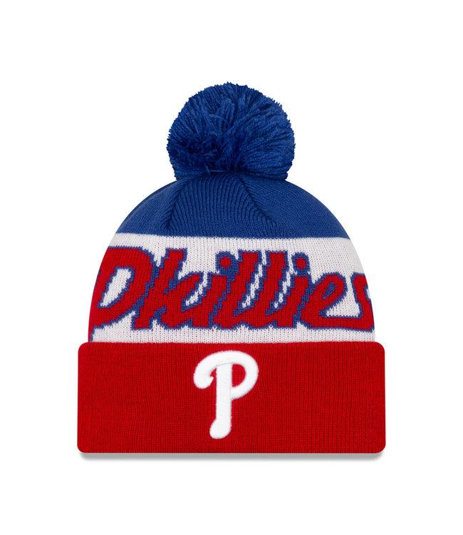 NEW ERA Men's Knit Script A3 Philadelphia Phillies