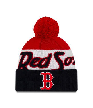 NEW ERA Men's Knit Script A3 Boston Red Sox