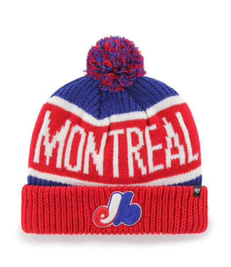 47BRAND MLB Adult Calgary Cuff Knit Montreal Expos