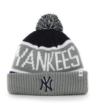 47BRAND MLB Adult Calgary Cuff Knit New York Yankees