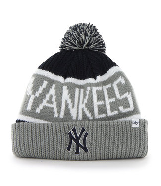 47BRAND Tuque MLB Calgary Cuff Knit des Yankees de New York